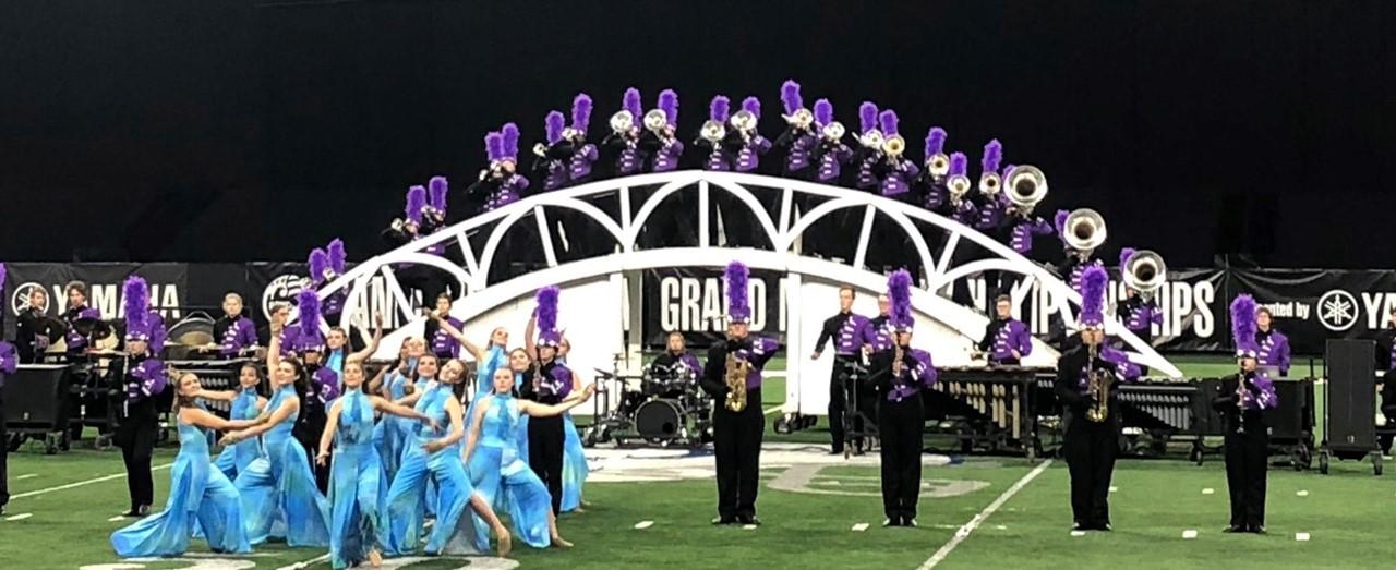 HS Band at Grand Nationals