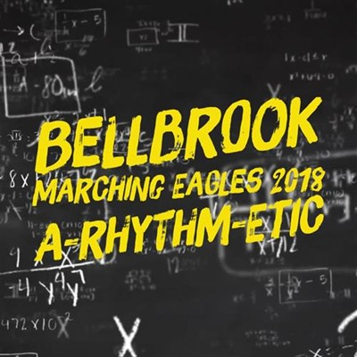 bellbrook marching eagles 2018 a-rythm-etic
